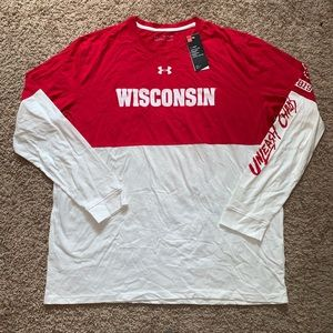 NWT Wisconsin Badgers T-shirt